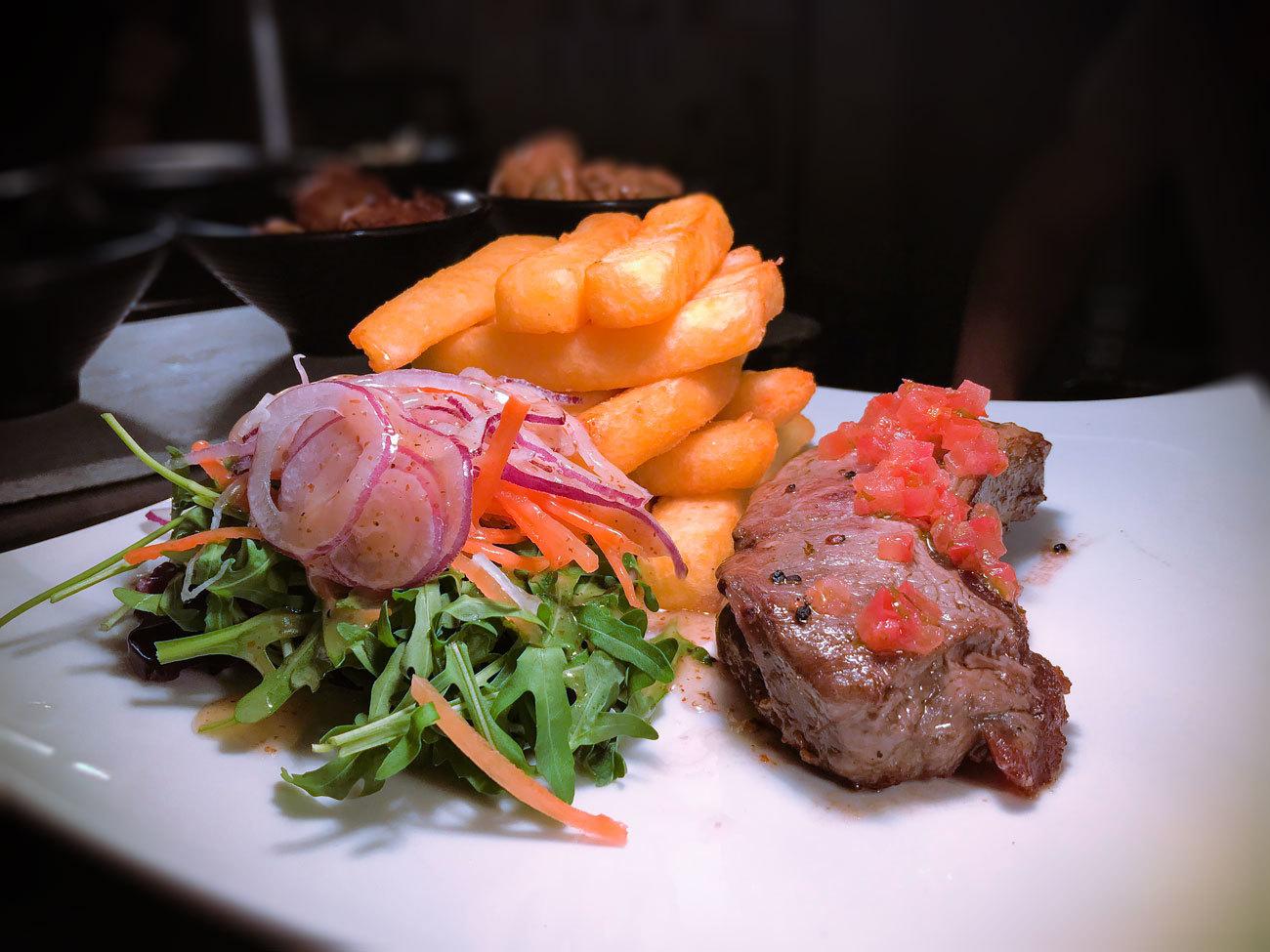 Tigers Eye Restaurant Steak