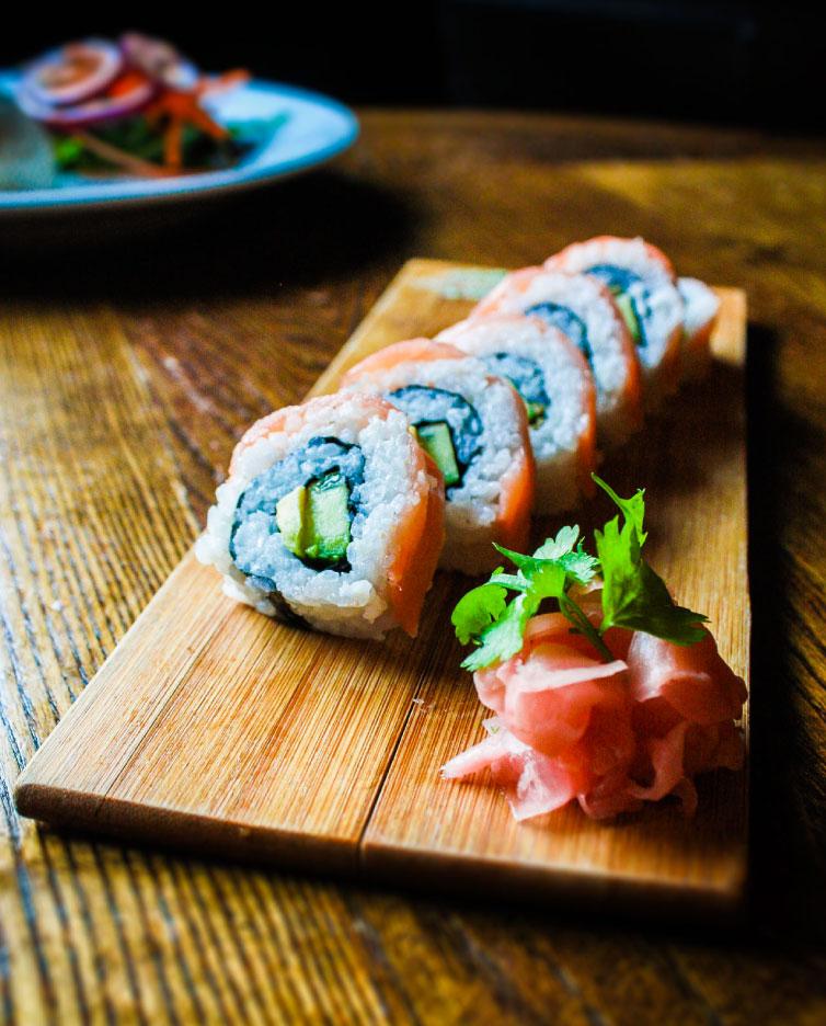 Sushi-Homepage